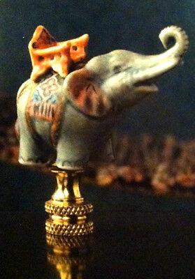 Hand Painted Resin Crab  Finial Lampshade Top Cute Animal Figurine Lamp Shade .