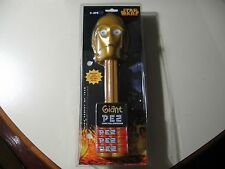 Giant Star Wars PEZ: C-3PO, gold stem/stick, Plays Music (Brand New and Sealed