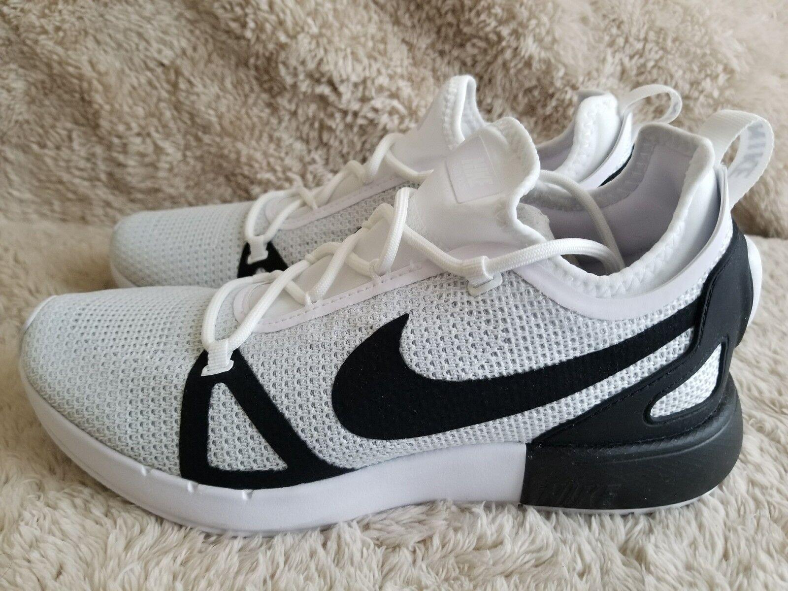 best service a64bd 48d83 ... Nike Duel Racer 918228-102 White Black Platinum Men s Sportswear  Sportswear Sportswear Running shoes 47d3ea ...