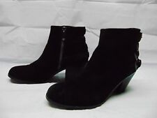 e6893bcd3dffcb item 5 Sam Edelman Ankle Heeled Boots Booties Buckles Black Suede Zip Up  Women s Size 8 -Sam Edelman Ankle Heeled Boots Booties Buckles Black Suede  Zip Up ...