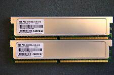 Geil GX22GB6400LX DDR2SDRAM 4GB  (2x2GB) PC2-6400U DDR2-800 CL5 #227