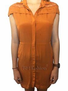Maurie-amp-Eve-Dress-Size-10-Aus-NWT-Brick-Coco-Lace-Shirt