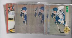 42-card-Saku-Koivu-mixed-rookie-lot-Montreal-Canadiens-star