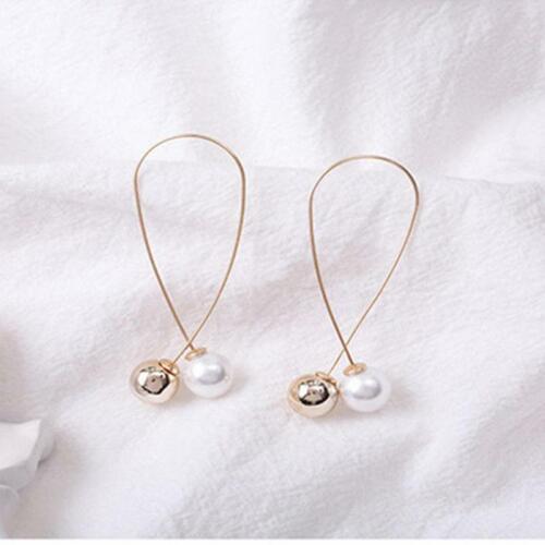 Birthday Dangle Drop Earrings Hooks Alloy Beach Korean Style Long Women Gifts SM