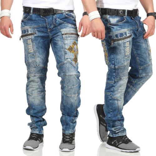 Shelly Baxx Jeans Uomo CD293 Regular Fit con o senza Cintura