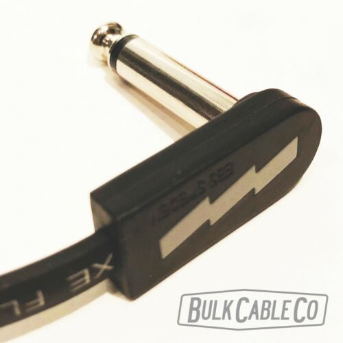 """EBS Flat Patch Cable 28cm 11/"""" Length PCF-DL28 Deluxe Thin RA//RA FX Cord"""