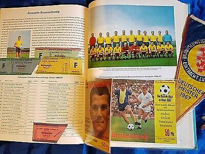 Eintracht Frankfurt Mannschaftkarte 1966-67