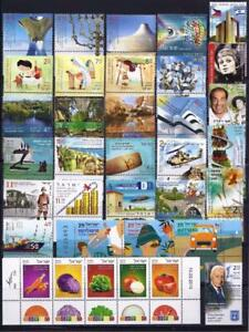 ISRAEL-2015-COMPLETE-YEAR-41-STAMPS-SOUVENIR-SHEET-NEW-VF-MNH