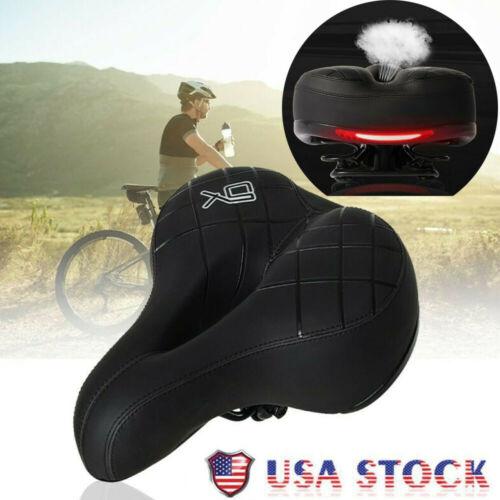 Bike Bicycle Saddle Seat Extra Comfort Soft Pad Wide Big Bum Gel Cushion Sporty
