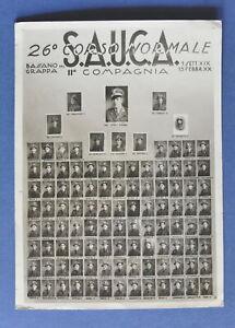 Militaria Fotografia 26 Corso Sauca Ii Compagnia Bassano Del Grappa 1941 Ebay