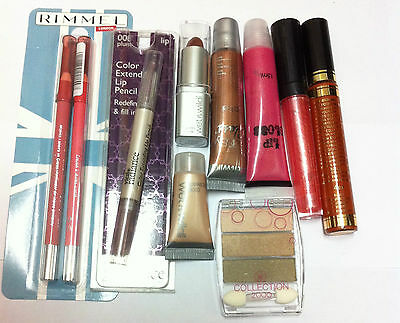 10 item Mixed Branded Make Up Joblot Bundle Cosmetics Wholesale make up set Gift
