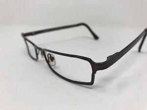 d36e7a82ccb9f Versace Eyeglass Frame Italy MOD.1041-1006 Brown Polish Frame 51-17 ...