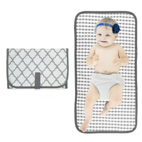 Newborn Kids Foldable Waterproof Baby Diaper Changing Mat Portable Changing Pad