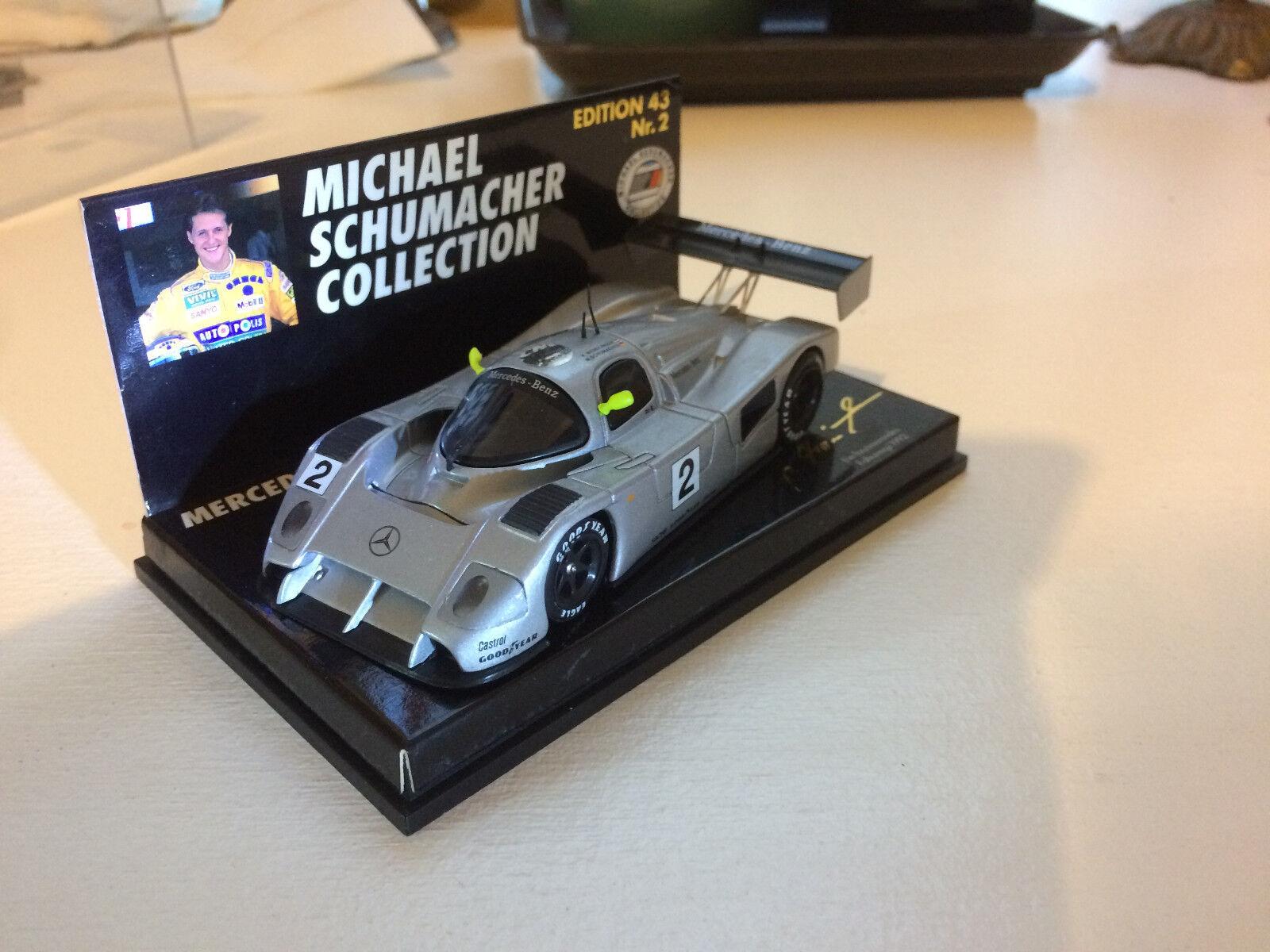 MERCEDES-BENZ C291, #2, Schumacher , 1:43