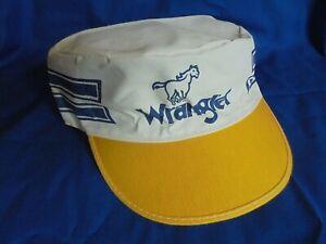 Vintage Wrangler Jeans Advertising Painter Style Cap Hat