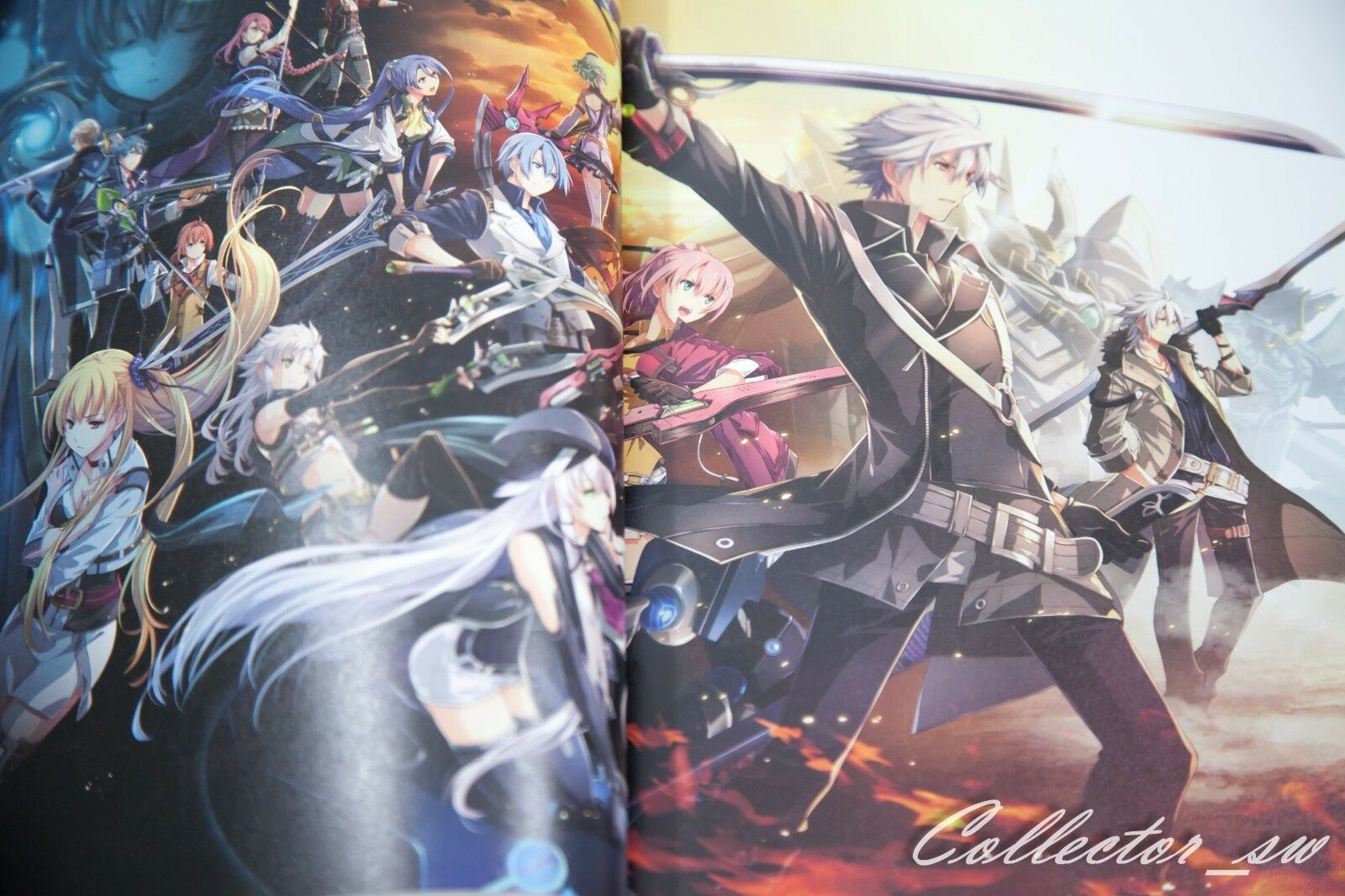 JAPAN The Legend of Heroes Trails of Cold Steel The End of Saga Official Visual