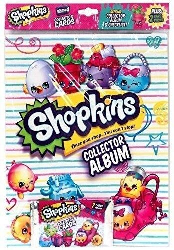 Season 4 Shopkins Collector 16 Trading Cards Can Be Split