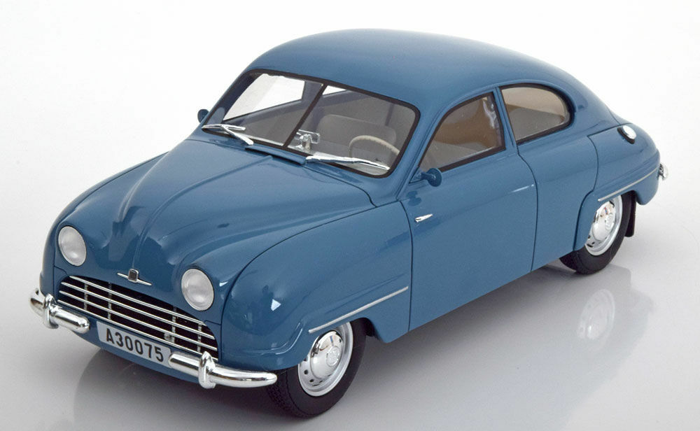 BOS 1952 Saab 92B Light bleu limited edition of 1000 1 18 rare à trouver   NOUVEAU