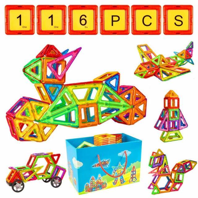 234-40 Blocks Magnetic Building Kinder Spielzeug Magnetische Bausteine Blöcke