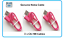 Genuine-Nokia-CA-189-Short-25cm-Micro-USB-Charge-Cable-for-Headsets-Mobiles-Pink miniatuur 5