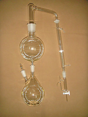Essential oil steam distillation kit,all of the glassware