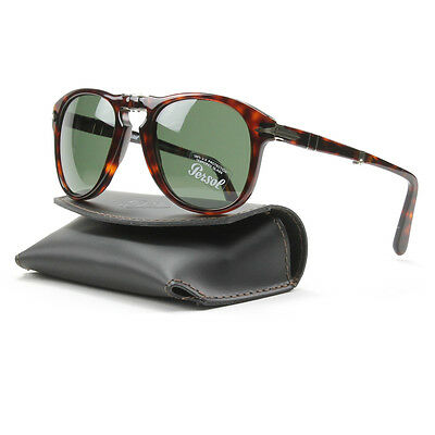 NWT PERSOL 714 SUNGLASSES FOLDING 24/31 SIZE 52 100% authentic and new PO0714
