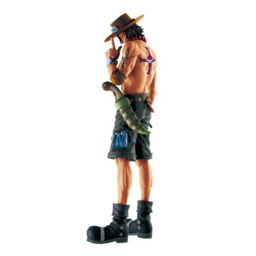 "One Piece Masterlise 20th Anniversary Portgas D Ace 10/"" PVC figure Banpresto"