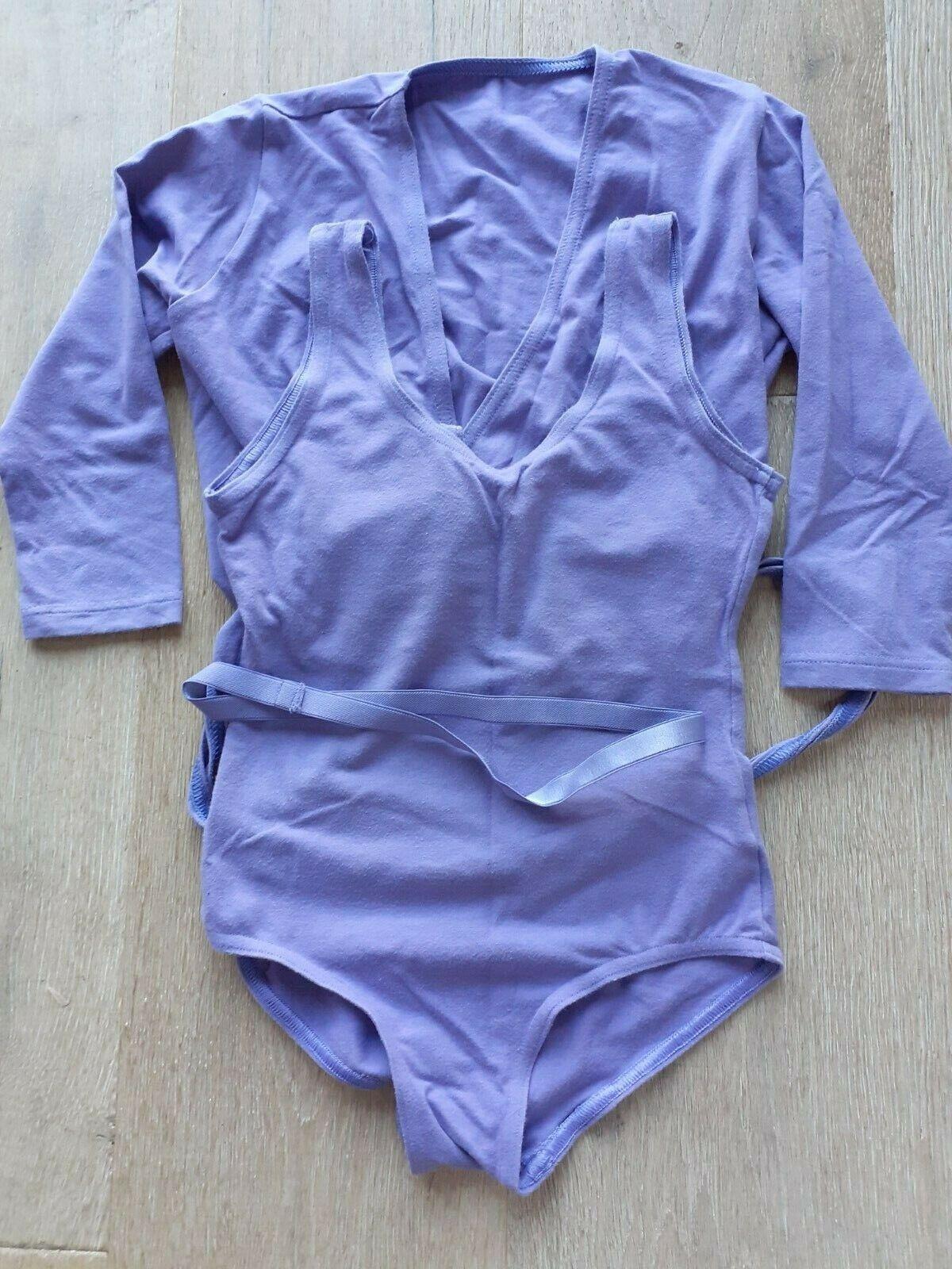 STARLITE RAD Regulation Cotton Leotard & Wrap (Lavender) Size 1
