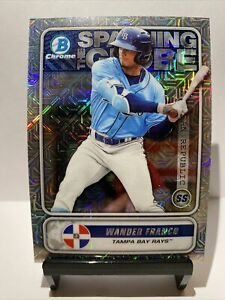 WANDER FRANCO 2020 BOWMAN CHROME MOJO REFRACTOR ROOKIE YEAR *INVEST* 🔥📈