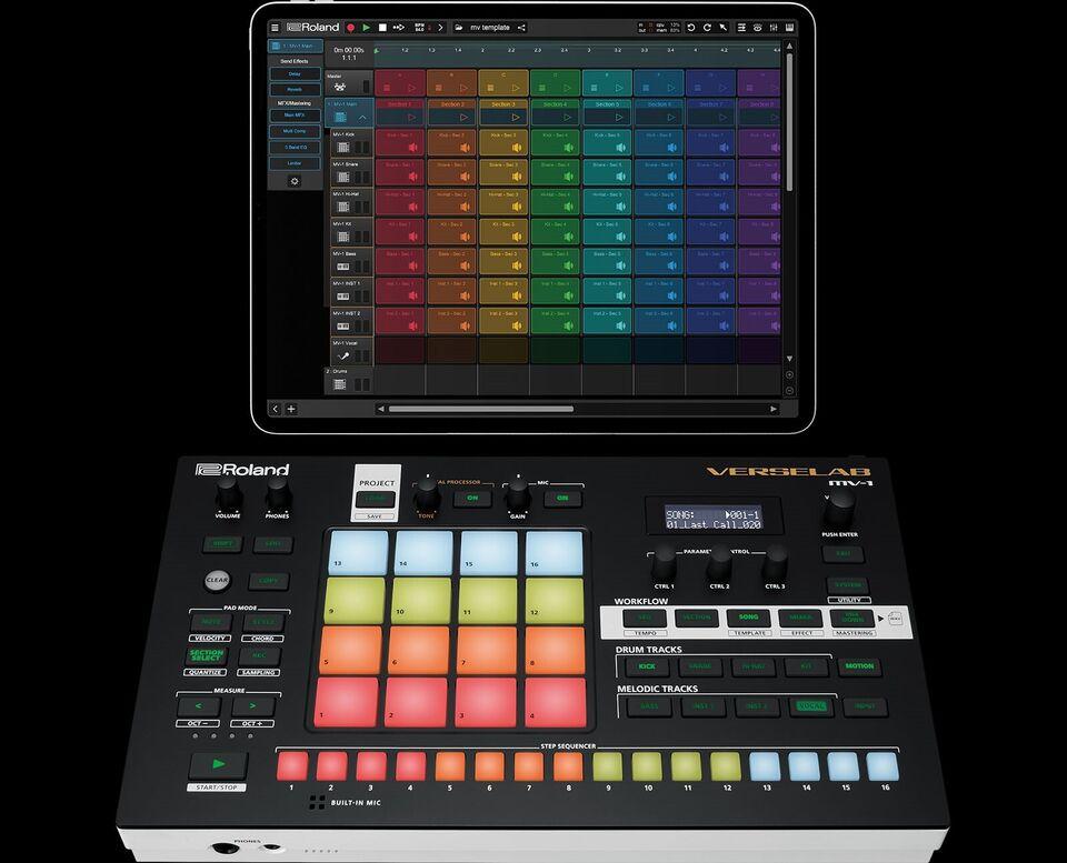 Groovebox, Roland MV-1 Verselab