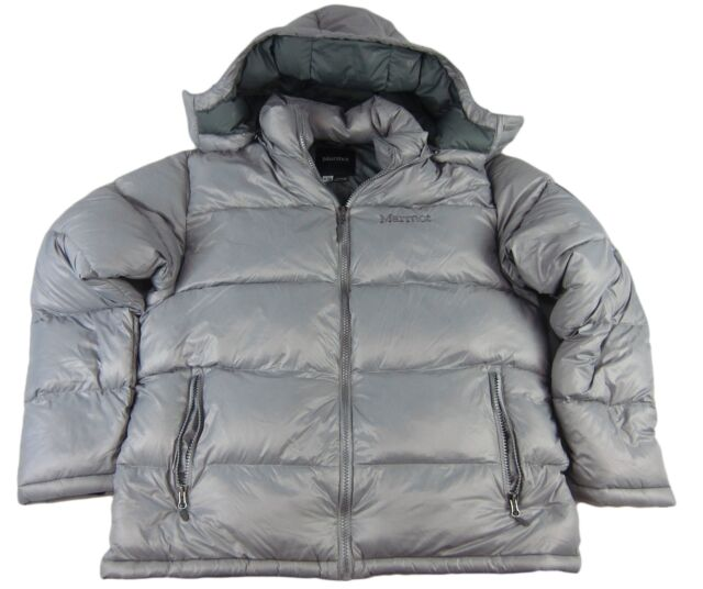 Buy Marmot Stockholm Men s Down Puffer Jacket Fill Power 700 XL Seel ... 37b3fa0970fa