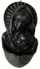 """Our Lady & Child Holy Water Font 8"""" (BK4) - Island Turf Crafts"""