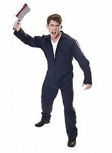 image is loading blue michael myers boilersuit jumpsuit halloween fancy dress