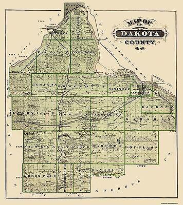 Andreas 1874-23 x 29.88 Wabasha Minnesota Landowner
