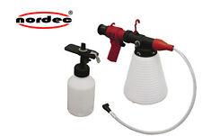 NORDEC Bremsenentlüftungsgerät SET 1500ml mit Nachfüllbehälter NEU