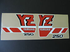 1988 YAMAHA YZ 250 FACTORY EDITION SHROUD DECALS VINTAGE MOTOCROSS