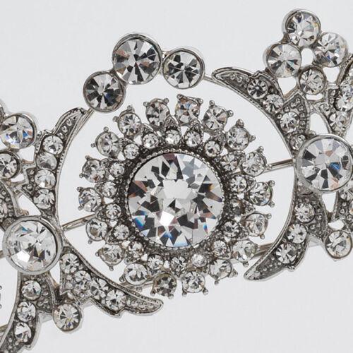 Princess Rhinestone Tiara Crown Bridal Wedding Prom Pageant Rose Gold /& Silver