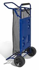 Beach Folding Table Cart with Drink Holders Lightweight & Sturdy by JGR Copa