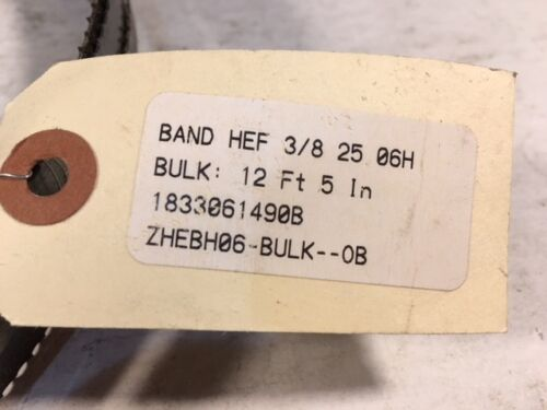 """12/' 5/"""" 149/"""" Bandsaw Blades 2 3//8/"""" Wide 6 TPI Two 0.025/"""" thick Long"""