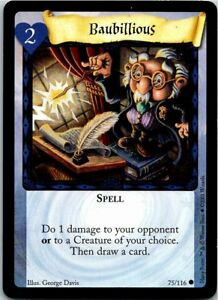 Harry Potter CCG Base Set Card 48//116 Diagon Alley