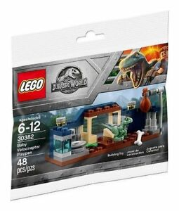 LEGO-Jurassic-World-Baby-Velociraptor-Playpen-30382-POLYBAG-NEU-OVP