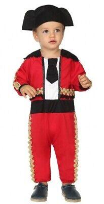 Baby Boys Girls Matador Spagnolo Bull Fighter Mondo Costume Vestito-mostra Il Titolo Originale Prezzo Ragionevole