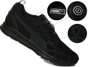 Details about Refletive PUMA DISC SLEEVE IGNITE FOAM TRIPLE BLACK [360946 01] Shoes SIZE US 9