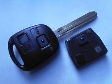 Toyota Previa, Landcruiser, RAV4, Hilux, Prado Etc 2 Botón Alarma remota Uncut Clave Fob