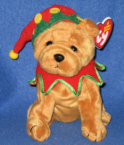 db1b8977ed1 TY ELFIS the DOG BEANIE BABY - MINT with MINT TAGS - LEARNING ...