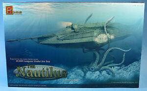 pegasus 1 144 the nautilus plastic model kit 9120 jules verne rh ebay com