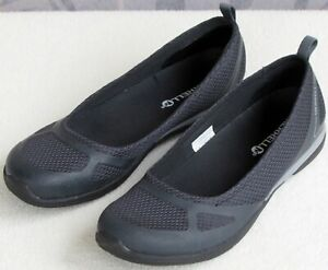 6-5-Merrell-Ceylon-Women-Black-Mesh-Fabric-Slip-On-Ballet-Flat-Sneaker-Shoe