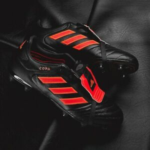 d2230c61c272 Adidas Copa Gloro 17.2 FG Leather Soccer Cleats Boots Black-Red ...