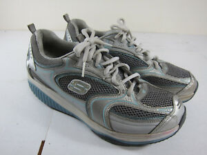 Skechers SHAPE-UPS white SHOES WOMENS SIZE 10