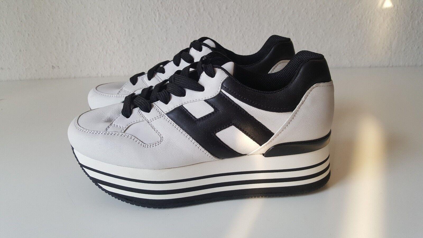 Hogan señora sneakers maxi h222